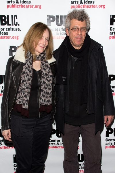 Jo Bonney, Eric Bogosian at Inside Opening Night of Public Theater's UNDER THE RADAR Festival