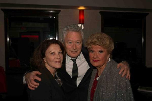 Linda Lavin, Stephen Sorokoff, Marilyn Maye at Inside Maryln Maye's Closing Night at Metropolitan Room