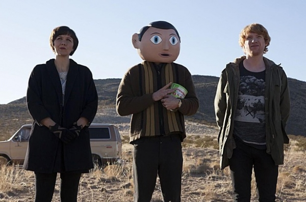 Photo Flash: First Look - Michael Fassbender, Maggie Gyllenhaal in FRANK
