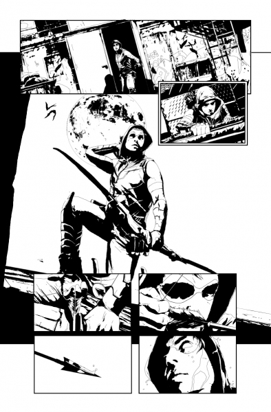 Photo Flash: DC Comics Releases First Look at GREEN ARROW #17