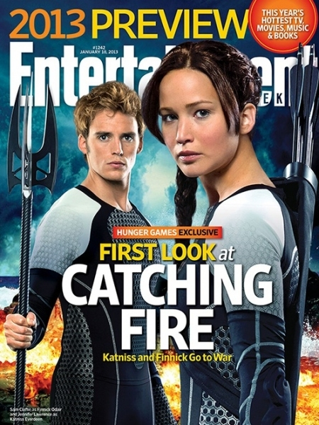 Sam Claflin, Jennifer Lawrence at Four New HUNGER GAMES: CATCHING FIRE Stills!