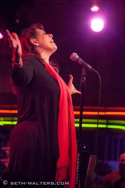 Christine Pedi at MARCY & ZINA SHOW at Broadway at Birdland