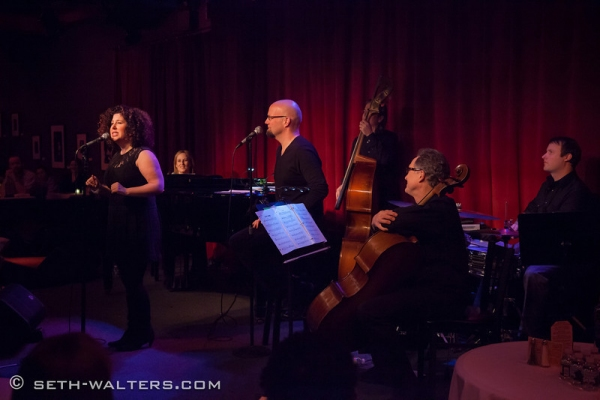 Photo Flash: MARCY & ZINA SHOW at Broadway at Birdland
