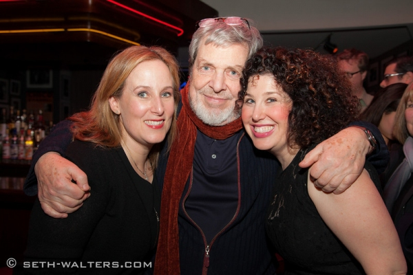 Zina Goldrich, Tony Walton and Marchy Cheisler