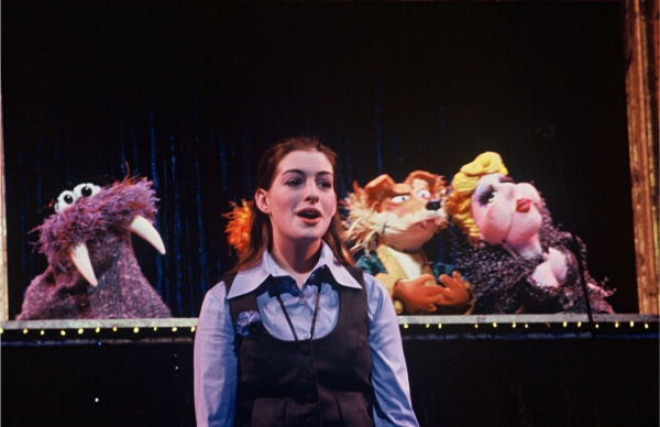 Anne Hathaway at Photo Flashback: Oscar Nominee Anne Hathaway in Encores! CARNIVAL