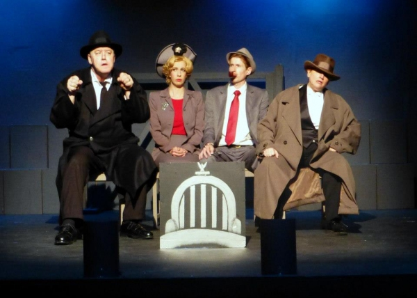 Karl Schott, Shaina Zalma Ostroff, Frank Weidner, Patricia Butler