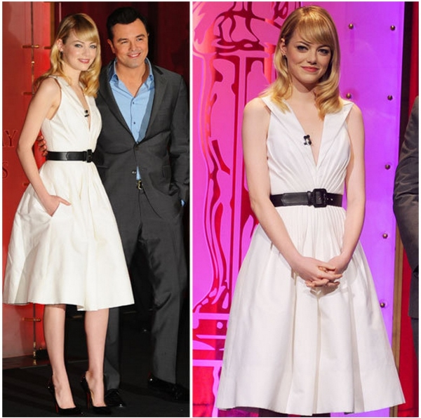 Fashion Photo of the Day 1/11/13 - Emma Stone
