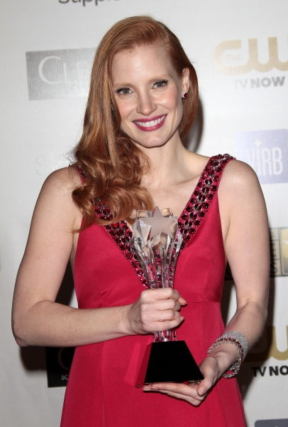 Jessica Chastain at Hathaway, Chastain & More at 18th Annual CRITICS CHOICE AWARDS