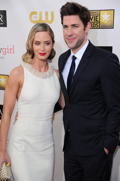 John Krasinski and Emily Blunt at Hathaway, Chastain & More at 18th Annual CRITICS CHOICE AWARDS
