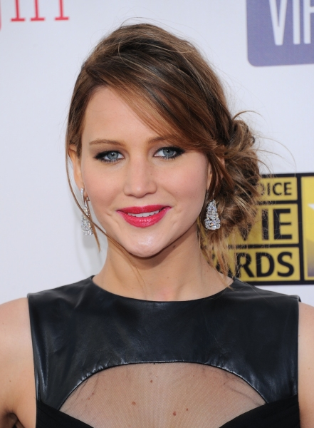 Jennifer Lawrence at Hathaway, Chastain & More at 18th Annual CRITICS CHOICE AWARDS