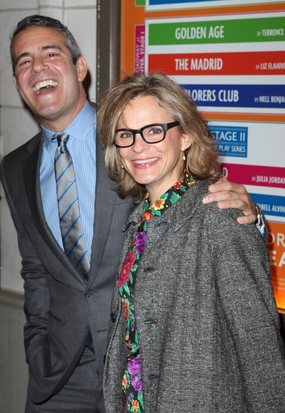 Andy Cohen & Amy Sedaris