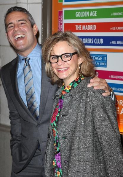 Andy Cohen & Amy Sedaris Photo