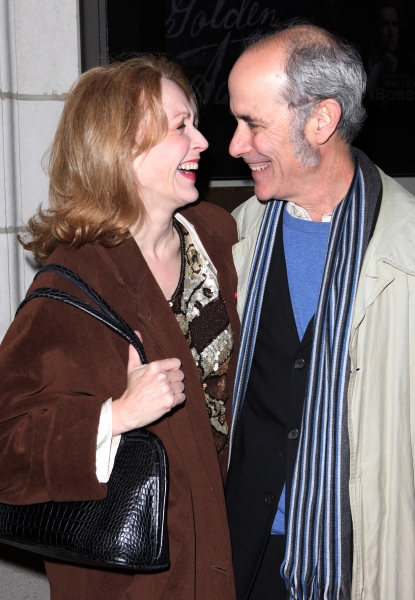 Jan Maxwell & Robert Emmett Lunney at THE OTHER PLACE Opening Night Theatre Arrivals!