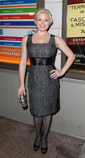 Megan Hilty  at THE OTHER PLACE Opening Night Theatre Arrivals!