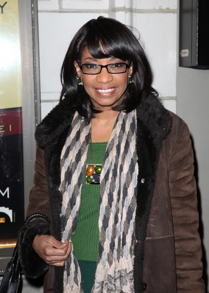 Adriane Lenox at THE OTHER PLACE Opening Night Theatre Arrivals!