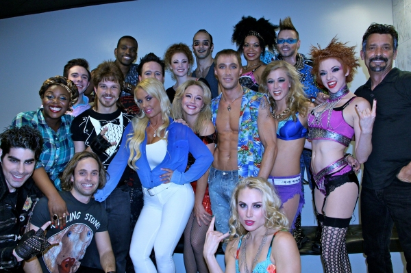 Photo Flash: PEEPSHOW's Coco Austin Visits ROCK OF AGES