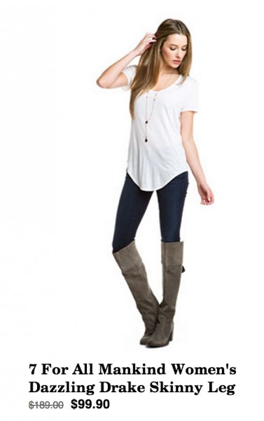 Daily Deal 1/11/13: Jeans and Boots