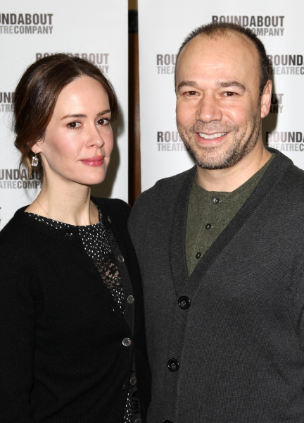 Sarah Paulson & Danny Burstein at TALLEY'S FOLLY Cast Meets the Press