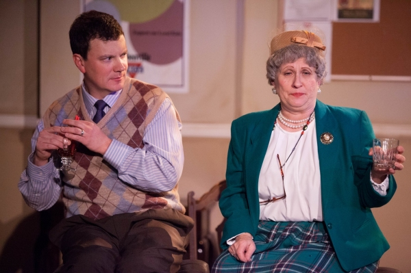 Chris Bleau as Jeffrey and Deborah Curtis as Mrs. Mannerly