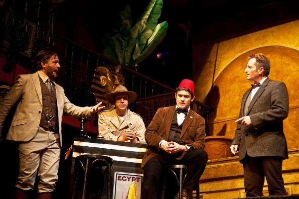 Photo Flash: Extempore Theatre's 2013 London Improvathon at Hoxton Hall