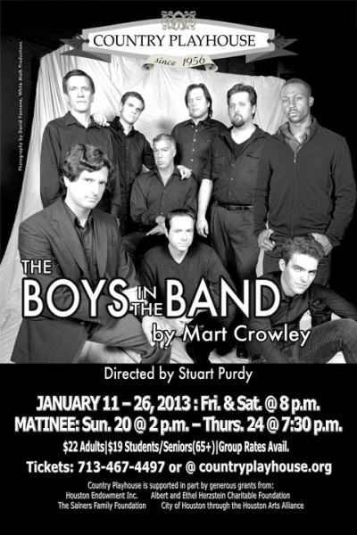 BWW Reviews: Country Playhouse's THE BOYS IN THE BAND - Surprisingly Relevant, Great Retro Show