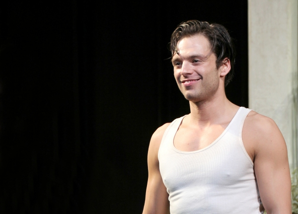 Sebastian Stan at Inside PICNIC's Opening Night Curtain Call!