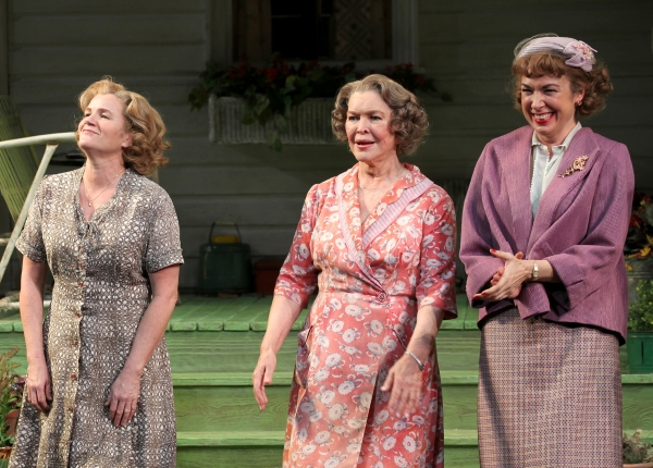 Mare Winningham, Ellen Burstyn, Elizabeth Marvel at Inside PICNIC's Opening Night Curtain Call!
