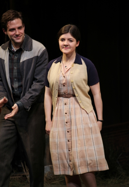 Ben Rappaport & Madeleine Martin at Inside PICNIC's Opening Night Curtain Call!