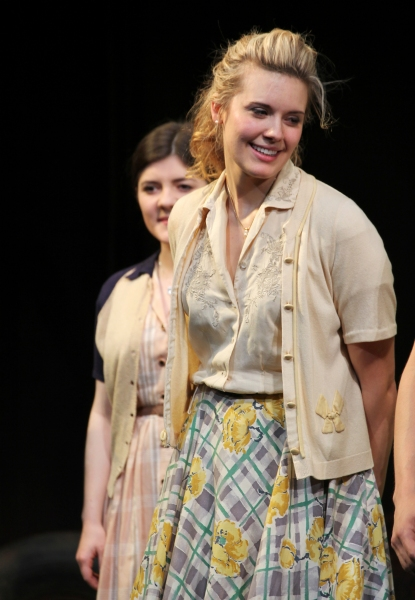 Madeleine Martin & Maggie Grace at Inside PICNIC's Opening Night Curtain Call!
