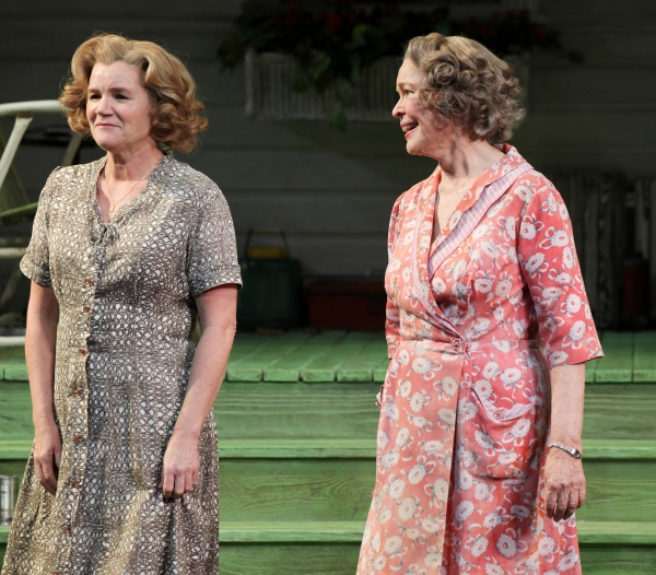 Mare Winningham & Ellen Burstyn at Inside PICNIC's Opening Night Curtain Call!
