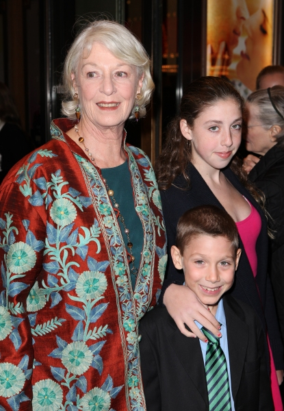 Jane Alexander with her Grandchildren