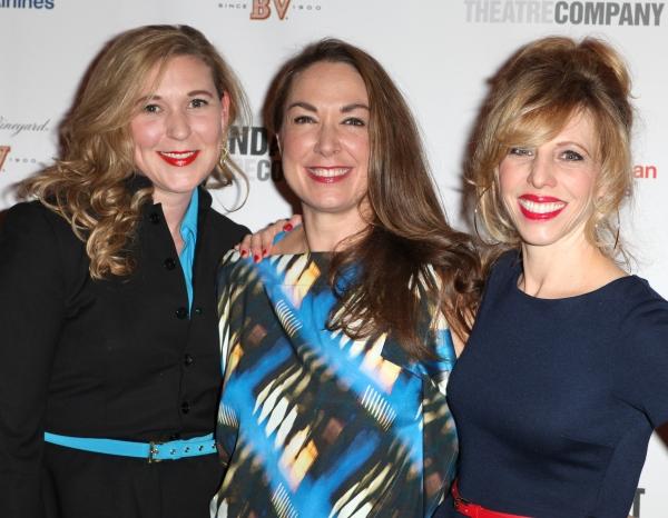 Cassie Beck, Elizabeth Marvel & Maddie Corman