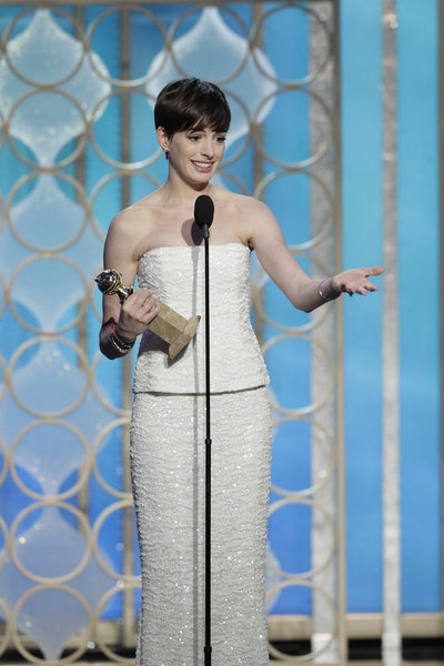 Photo Flash: Stars of LES MIS,HOMELAND & More Take the Stage of the 70th Annual Golden Globe Awards