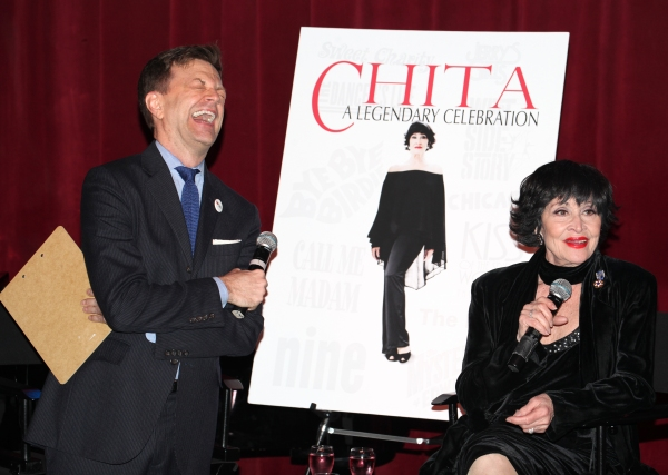 Photo Coverage: Chita Rivera Announces 80th Birthday Celebration!