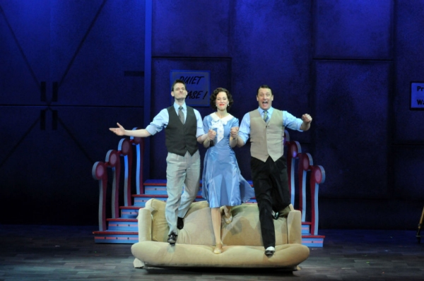 Photo Flash: First Look at Curt Dale Clark, Lauren Blackman and More in Jupiter's SINGIN' IN THE RAIN