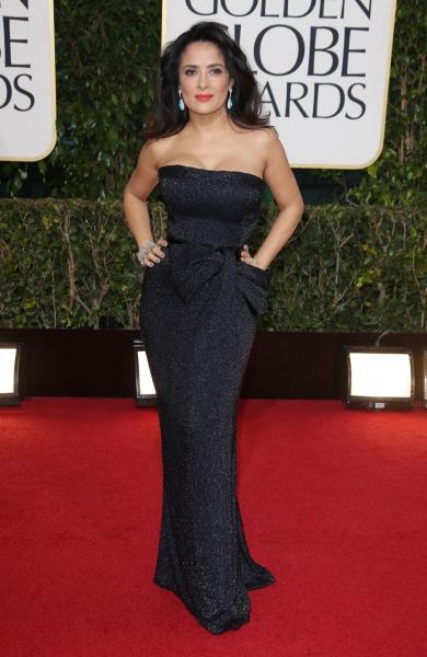 Salma Hayek (Wearing Gucci)
