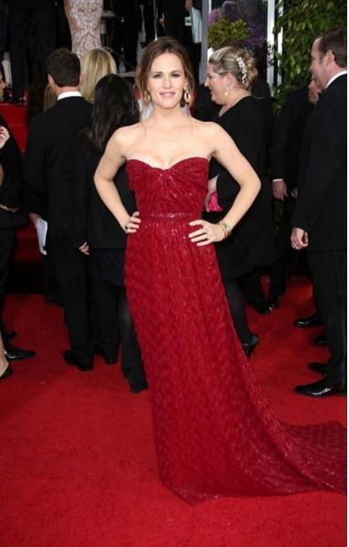 Jennifer Garner (Wearing Vivienne Westwood)
