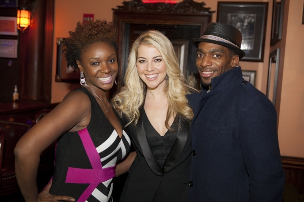 Saycon Sengbloh, Morgan James and Daniel Watts