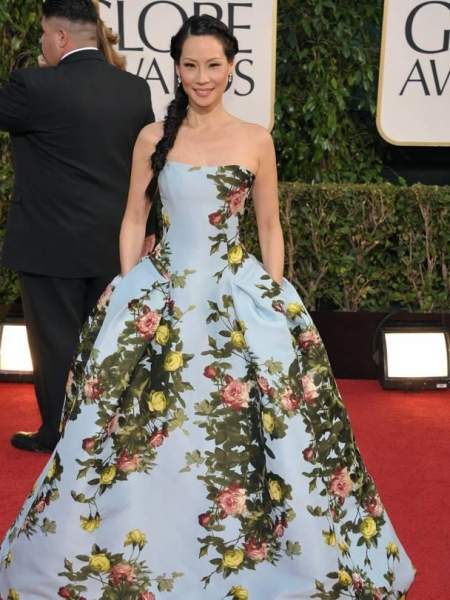 Photo Coverage: More Stars at the Golden Globe Red Carpet