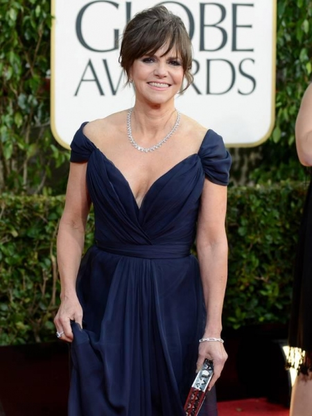 Sally Field at More Stars at the Golden Globe Red Carpet