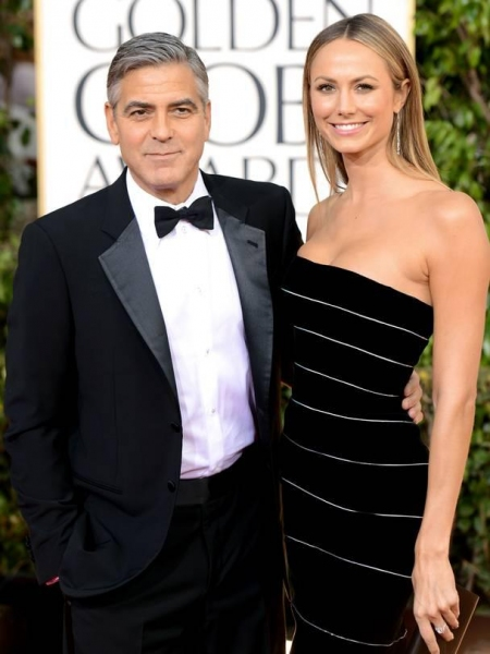George Clooney at More Stars at the Golden Globe Red Carpet
