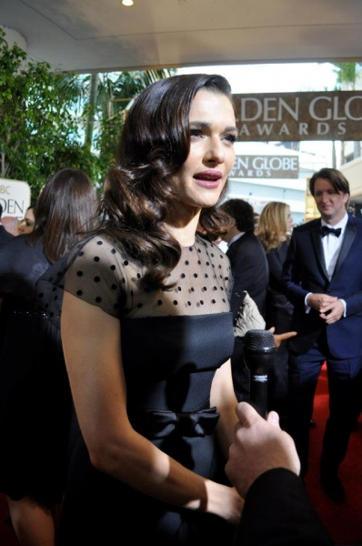 Rachel Weisz at More Stars at the Golden Globe Red Carpet