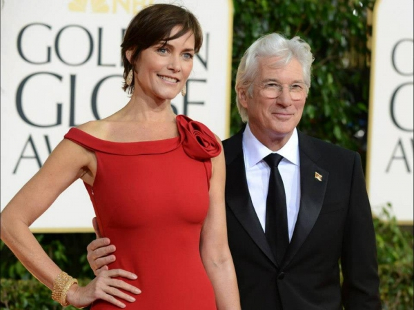 Richard Gere at More Stars at the Golden Globe Red Carpet
