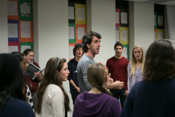 Photos: Tony Winner Jason Robert Brown & OCSA Rehearsing for PERFORMING W/ PROS Concert, 2/1-2