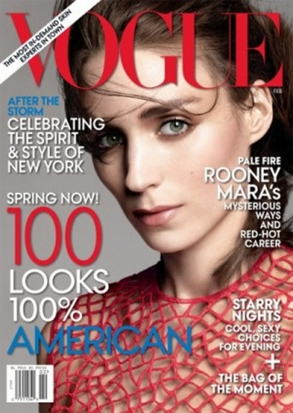 Photo Coverage: Rooney Mara's Vogue Cover
