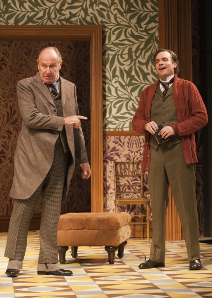 Paxton Whitehead as Colonel Pickering and Robert Sean Leonard as Henry Higgins