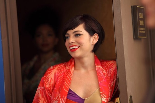 """SMASH -- """"On Broadway"""" Episode 201 -- Pictured: Krysta Rodriguez as Ana Vargas -- (Photo by: Eric Liebowitz/NBC)"""