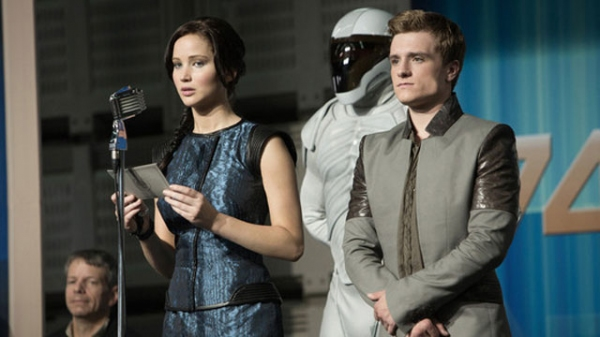 Jennifer Lawrence, Josh Hutcherson at First Look - New Stills from HUNGER GAMES: CATCHING FIRE