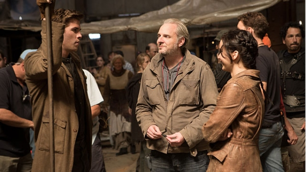 Liam Hemsworth,Director Francis Lawrence, Jennifer Lawrence