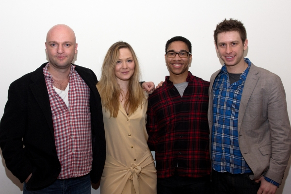 Photo Coverage: Meet the Cast of Playwrights Horizons' THE FLICK!